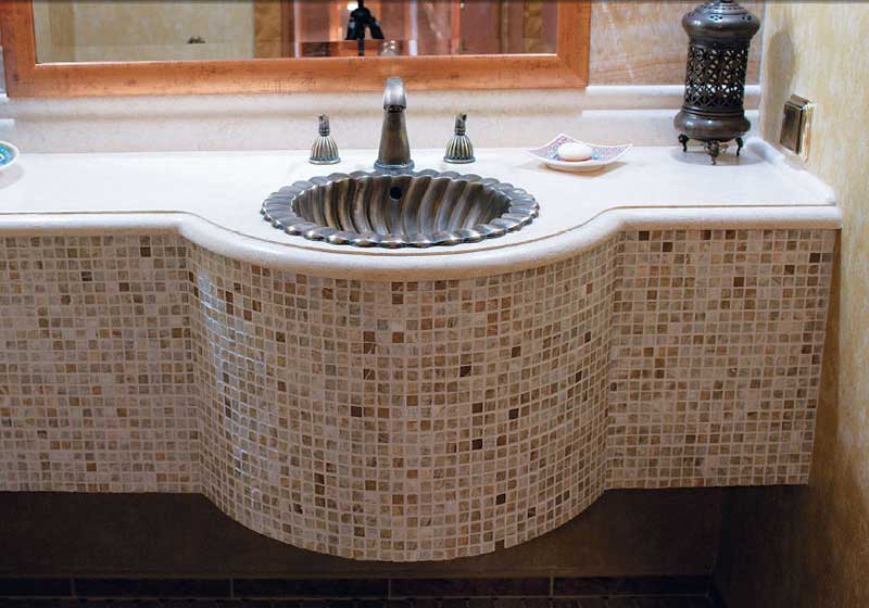Beige Mixed White Seas Shell Mosaic Tile_2