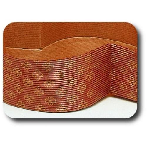 Micro-flute corrugated paper moulds baking moulds