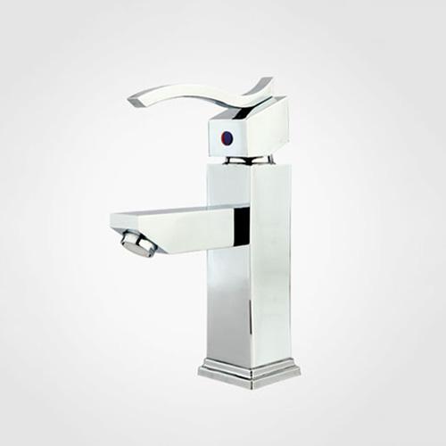 New felat single lever basin mixer