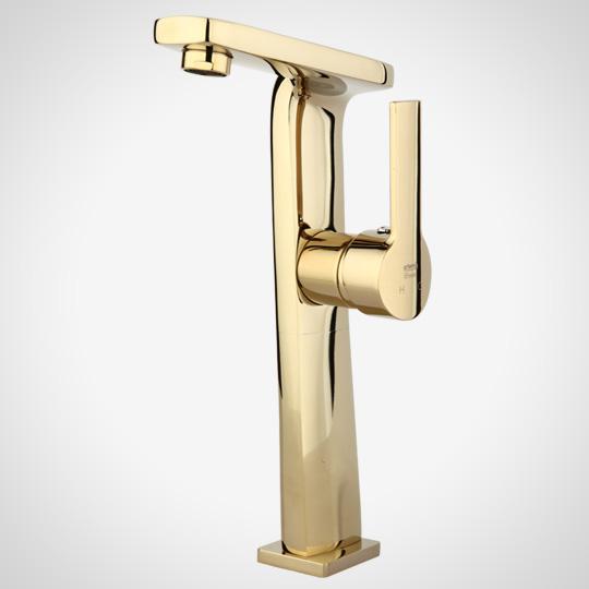 Golden denis long basin mixer