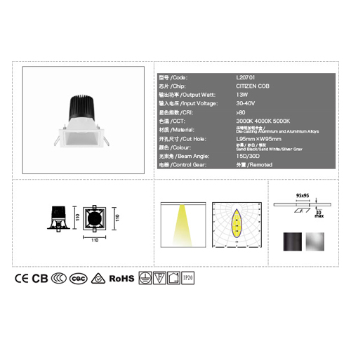 Youling recessed lighting