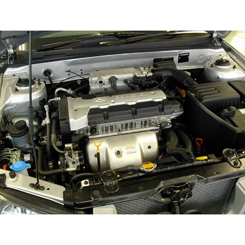 Hyundai i30 1.8 Engine G4NB Empty_2