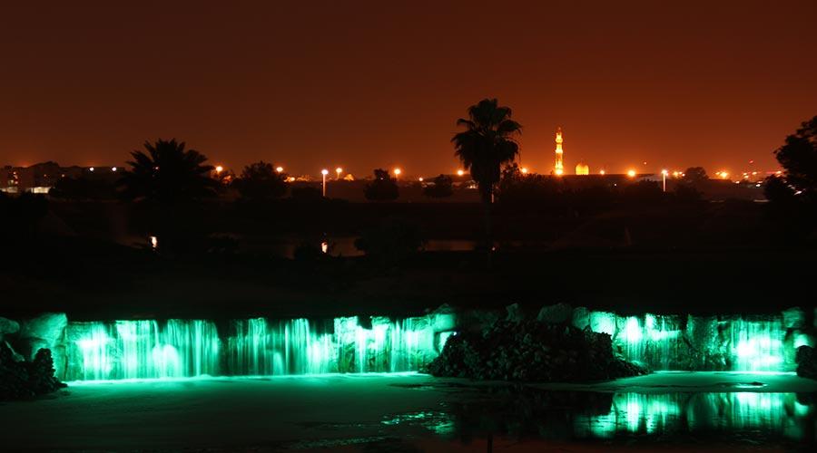 Al badia golf club 3m design lighting
