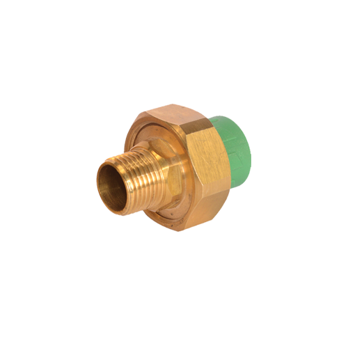 Male Threaded Union, PPR pipe and fittings_2