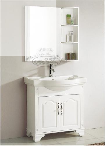 XL-516 Solid Wood Bathroom Ark_2