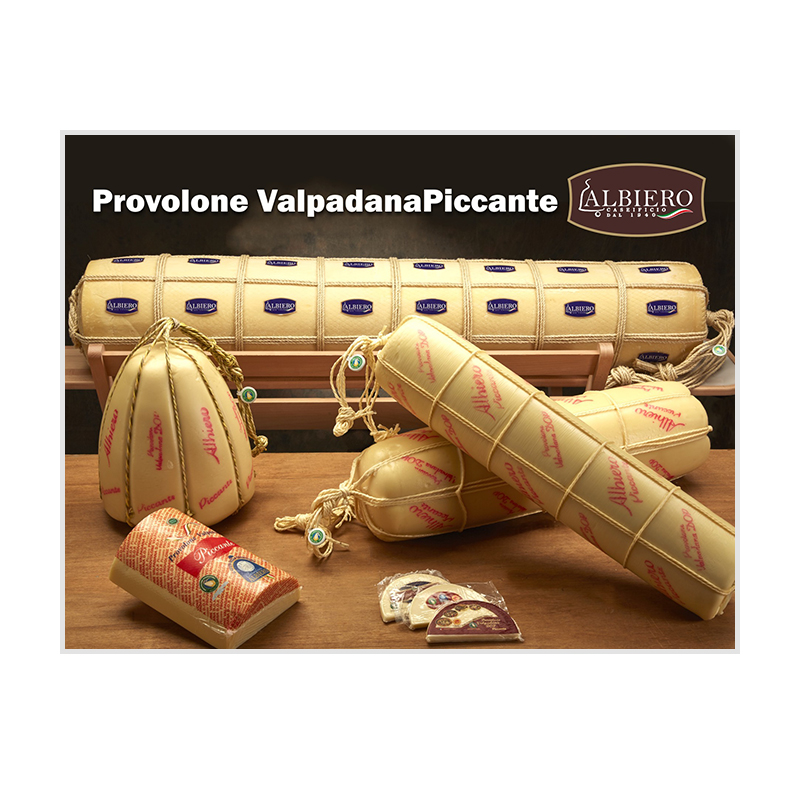 Strong provolone valpadana dop cheese