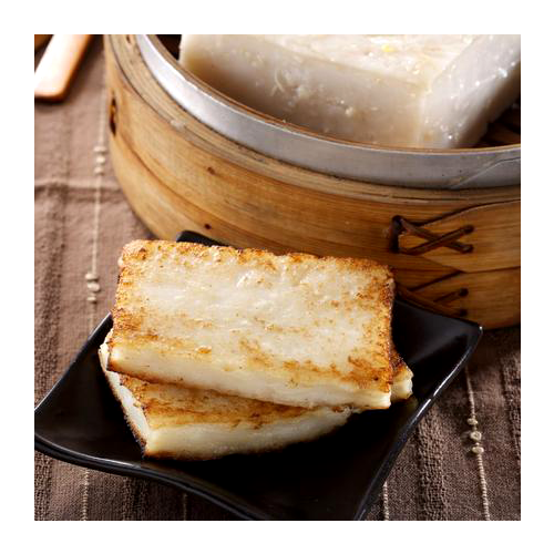 Home bake organic turnip cake
