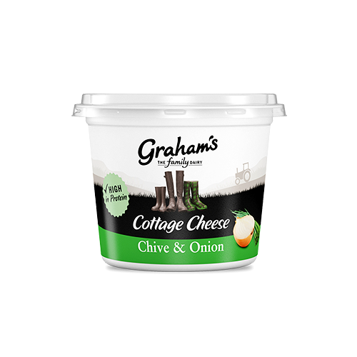 Chive & onion cottage cheese