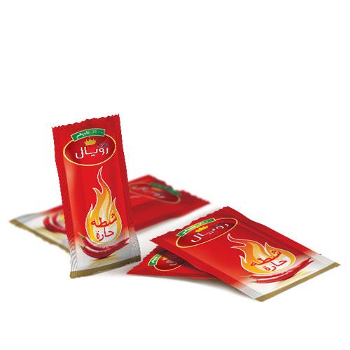 Hot sauce -sachet