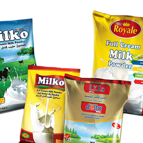 Full cream milk powder – pouch/sachet