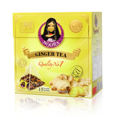GINGER PYRAMID TEA