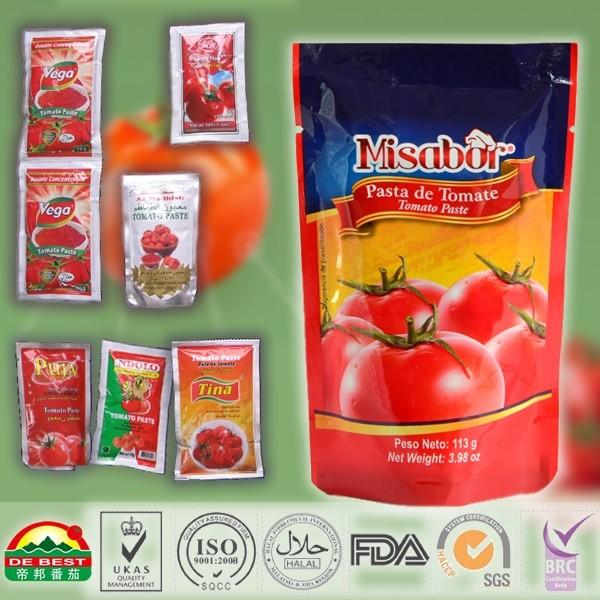 Sachet tomato paste Standing Ketchup_2
