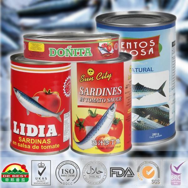 425g canned mackerel in brine