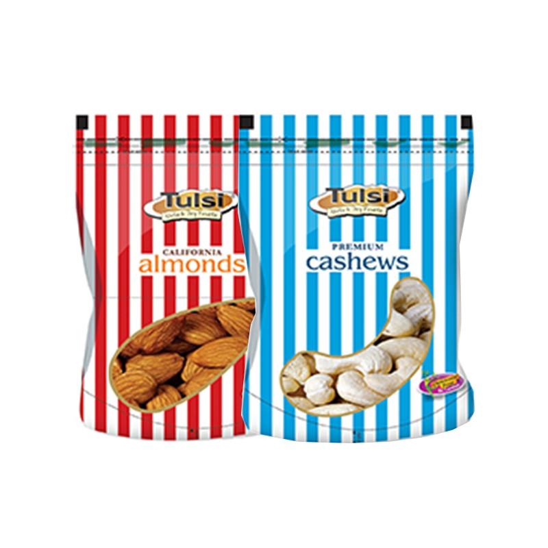 Combo tulsi badam giri premium 200g - cashews w-320 gold 200g