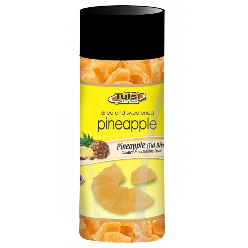 Tulsi Dried Pineapple Jar Imported 200g_2