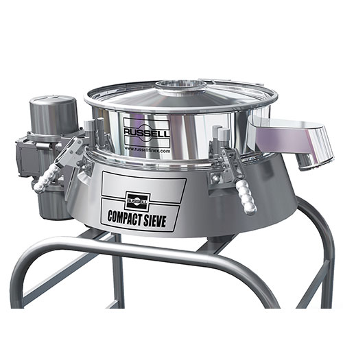 Check screeners russell compact sieve
