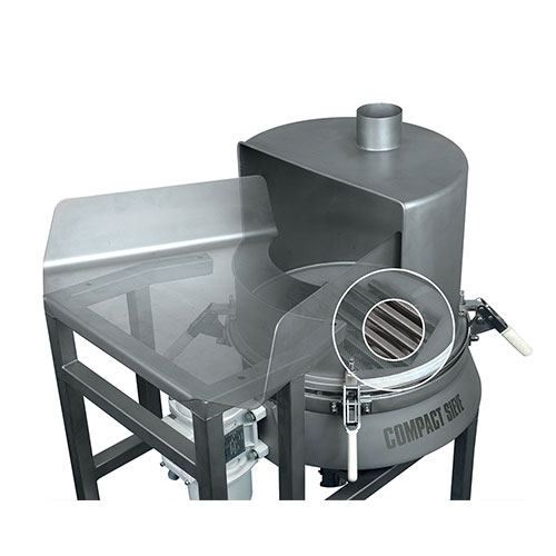 Check screeners compact 3in1 sieve