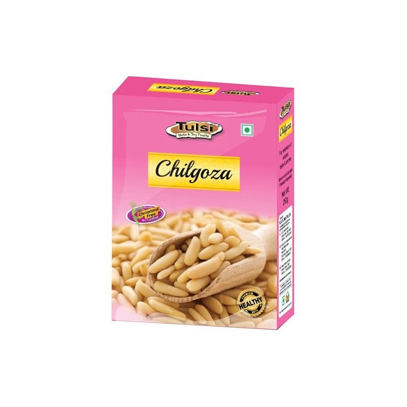Tulsi chilgoza pinenuts 250g