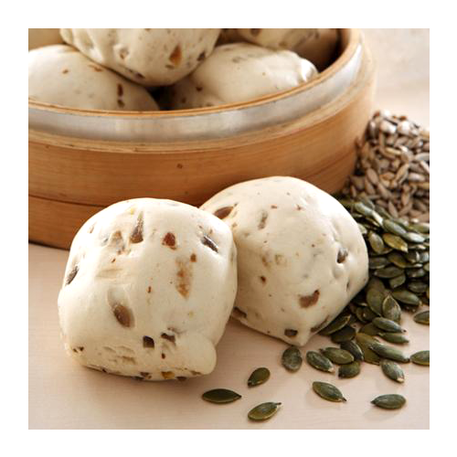 Home bake organic nuts steamed bread-vegan