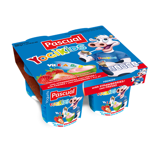 Pascual yogikids strawberry