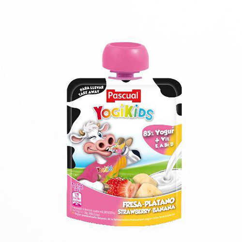 Pascual yogikids strawberry-banana