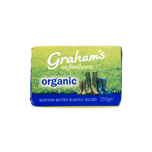 Organic slightly salted butter
