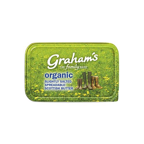 Organic slightly salted spreadable