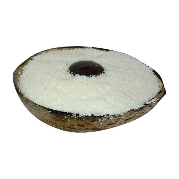 Coconut shell ice creams