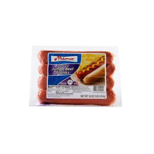 Midamar Halal Premium Beef Frankfurters_2