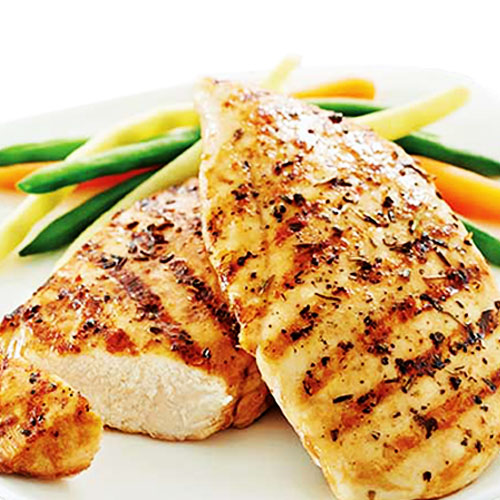 Halal boneless chicken fillets