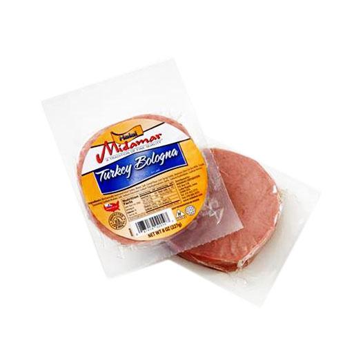Halal turkey bologna