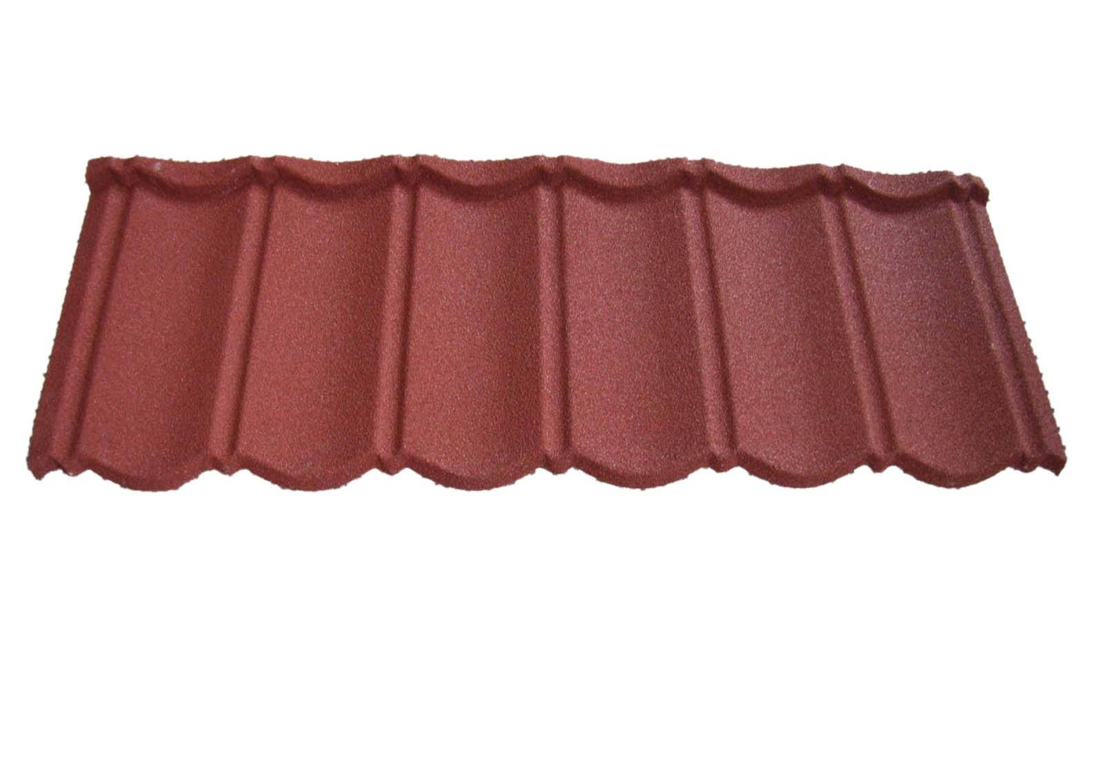 Colorful stone coated classic roofing tie