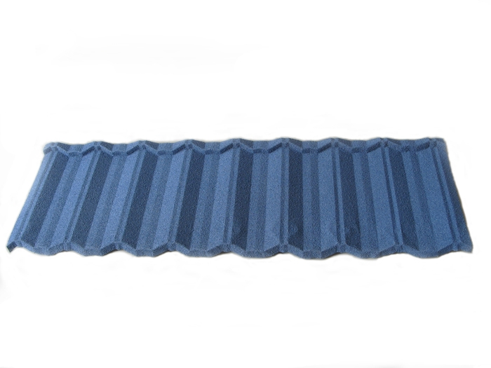 Colorful stone coated modern classic roofing tile