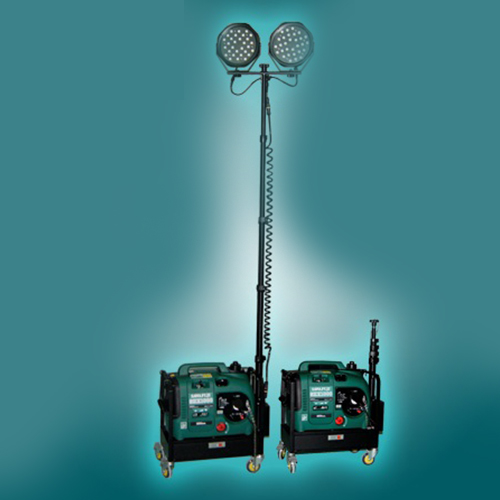 Led multifunction omnibearing mobile worklight