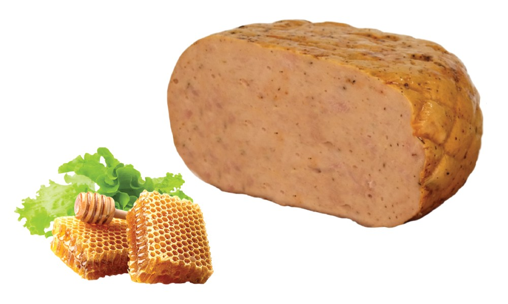 Smoked roast turkey breast honey