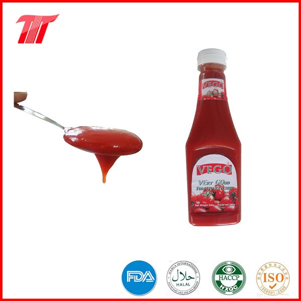 340 g plastic bottle tomato ketchup