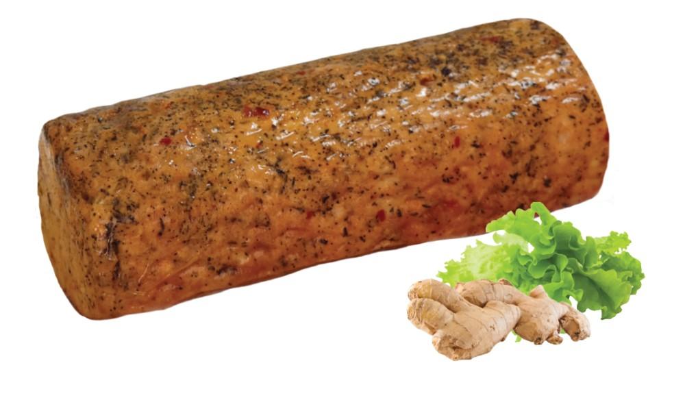 Smoked roast turkey breast cajun