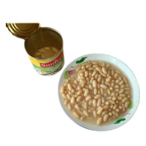White kidney beans in salt