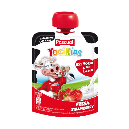 Liquid yogurt* yogikids strawberry
