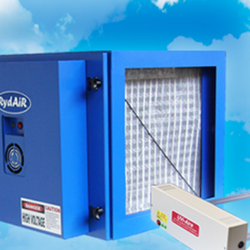 Modular industrial electrostatic air cleaners - ry 2500b