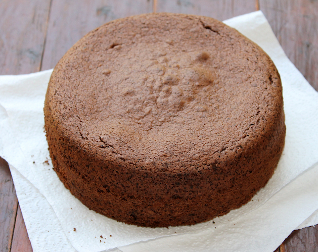 Chocolate sponge cake mix