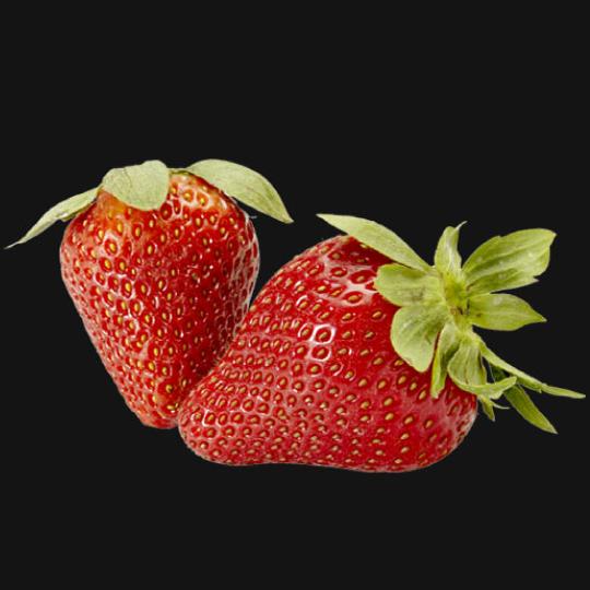 Strawberry puree fruit