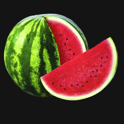Watermelon puree fruit