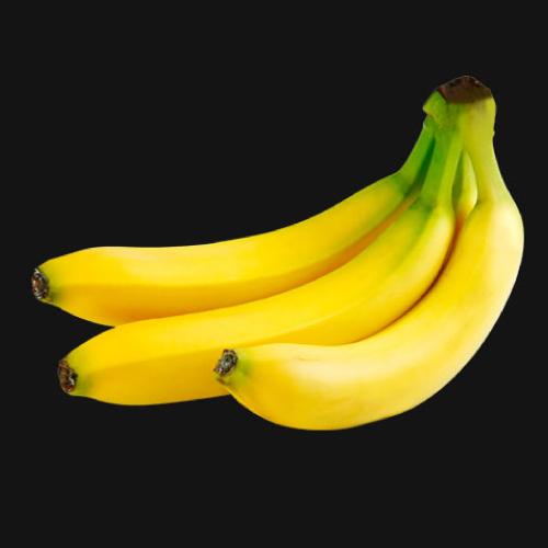 Banana puree fruit