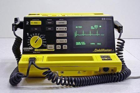 Hp codemaster xl-xl plus defibrillator-monitor