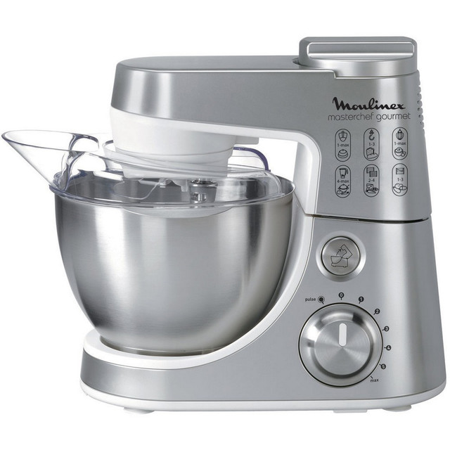 Moulinex Kitchen Machine 4L Silver_2