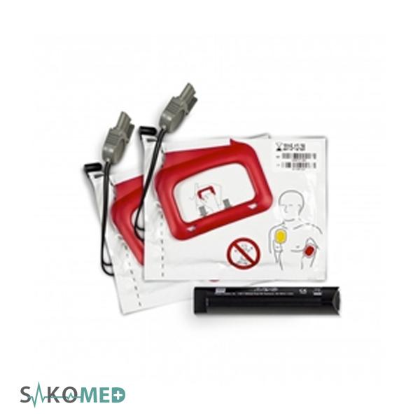 Physio-Control LIFEPAK CR® Plus-EXPRESS CHARGE-PAK™ w-2 sets ele_2