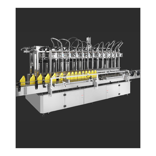 Twelve nozzle auto filling machine (with spiral pump)