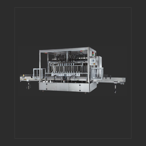 Eight nozzles auto filling machine (with rotary lobe pump)