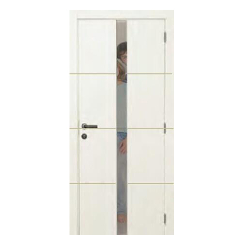 Linee Primed P002 Small Glass Door_2
